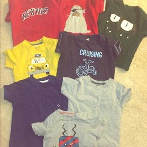 Other - Bundle of Toddler Boys Tees Exceptional Condition